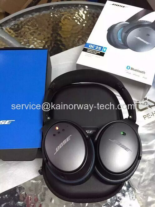New Bose QuietComfort QC25 Bluetooth Wireless Headphone Headsets