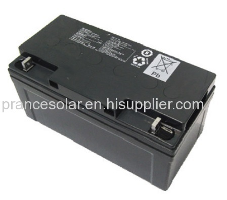 Rechargeable Deep Cycle Sealed Lead Acid Storage Battery Solar Use 12V 22Ah-250Ah for Solar Power System