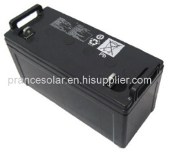 100AH lead acid deep cycle solar battery
