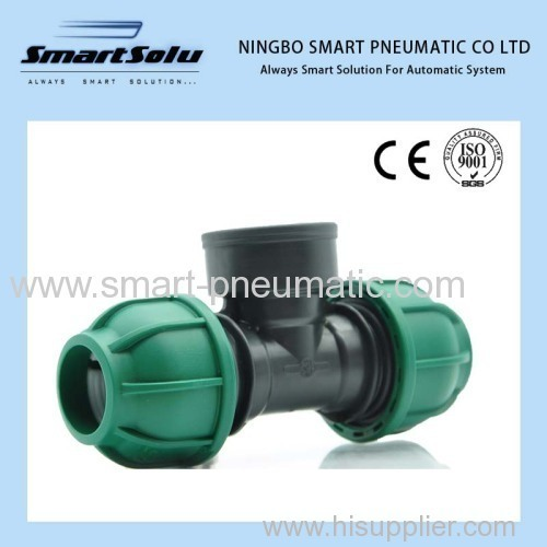 Round PPR Fittings Pipe Bridge
