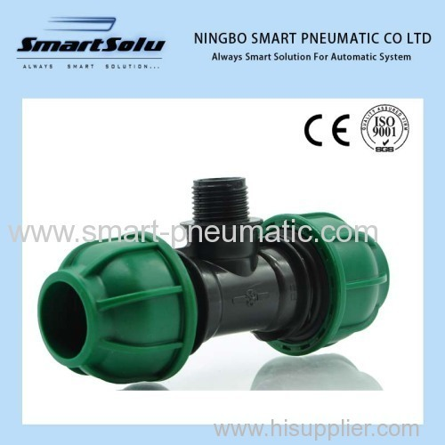 PPR Quick Connection Fittings Pipe Bridge