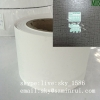 Self Adhesive Brittle Destructible Security Label Papers Jumbo Rolls Frangible Vinyl Paper