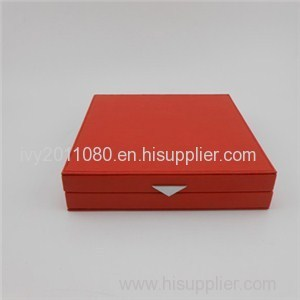 Necklace Display Leather Box