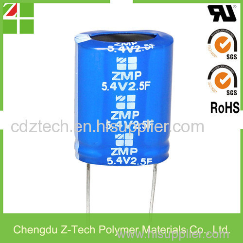 Gold Capacitor Farad Stacked Coin Type Super Capacitor 5 5V