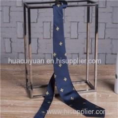 Custom Logo Silk Tie