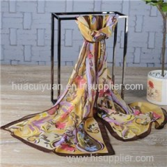 Custom Print Silk Shawl Manufacturer