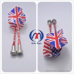 Magnetic darts with aluminium body