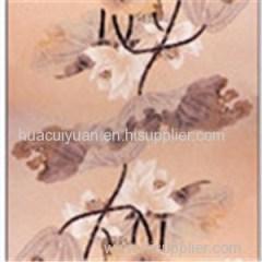 100% Silk Digital Print Long Scarves (dl13001)