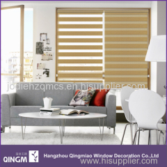 Design View Blinds 8-Folded Golden Silk Zebra Blind Sunscreen Fabric