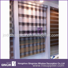 2015 polyester dual roller blinds fabric