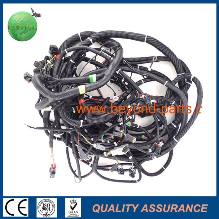 110726664122 komatsu pc400 7 main wire harness engine pump wiring harness from  at bayanpartner.co