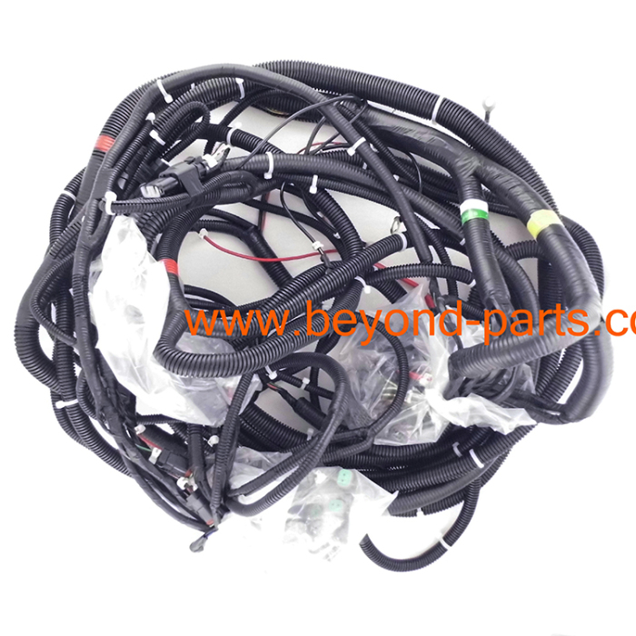 110732373905 komatsu pc400 7 main wire harness engine pump wiring harness from  at bayanpartner.co