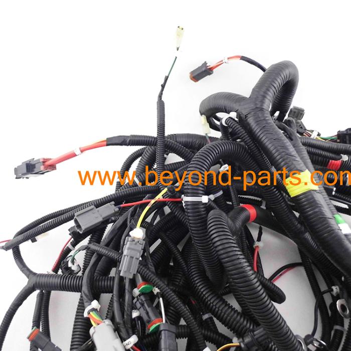 Komatsu pc main wire harness engine pump wiring