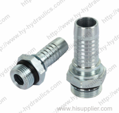 O-ring male sae hydraulic pipe fitting SAE J -1926 male fitting 16011