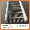 stainless steel wedge wire linear floor shower drain