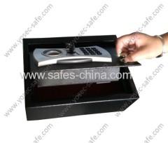 Yosec drawer gun safe with electronic lock/security electronic digital pistol drawer safe box