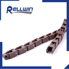 Plastic SS pin Case conveyor chain without TAB