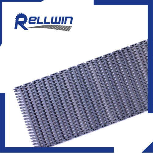 Modular Plastic Food Belt Conveyor 27.2mm straight running belt