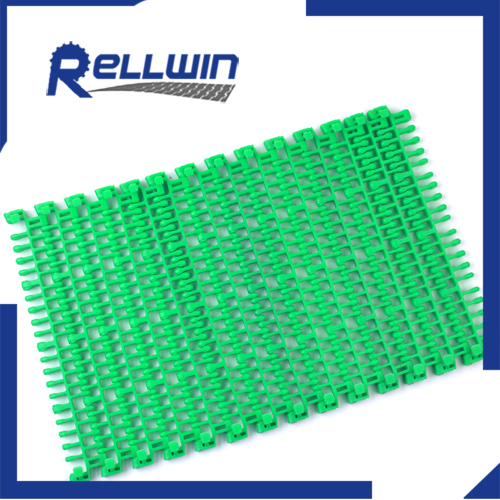 IS615 Radius Flush Grid plastic modular Conveyor heat resistant belt (38.1mm)pitch