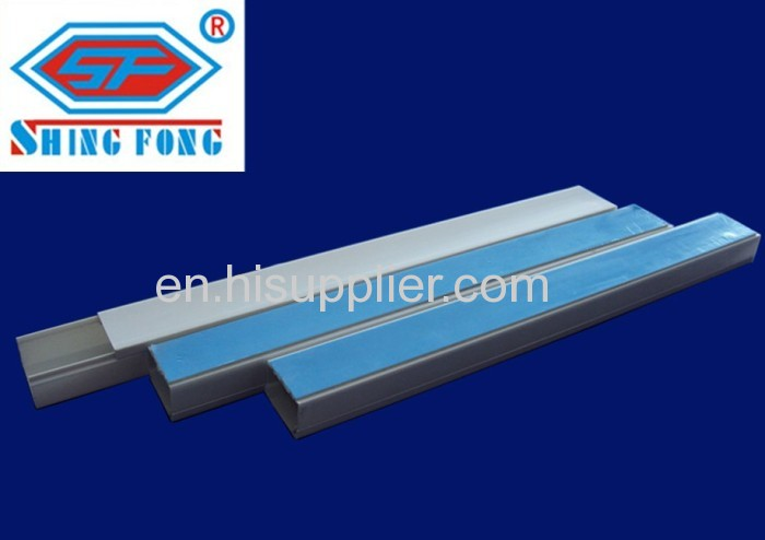 UV protection PVC electrical trunking Square Electrical Cable Duct ...