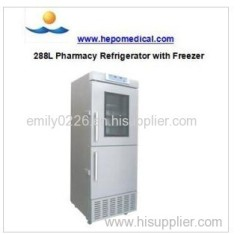 High-End Pharmacy Refrigerator with Freezer