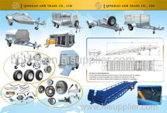 outdoor trailer box trailer