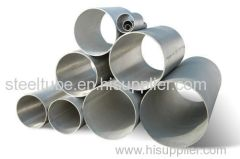 Exhaust Steel Tube Welded Stainless Steel Tube SUS409L / SUS439 / SUS436L / SUS346S