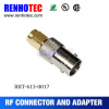 vertical BNC female to SMA adapter RF connector panle mount