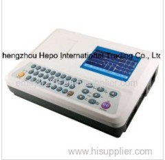 3 Channel Digital Electrocardiograph ECG