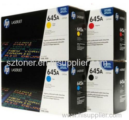 HP 645A Original Toner Cartridge C9730A C9731A C9732A C9733A For HP Color LaserJet 5550dtn 5500