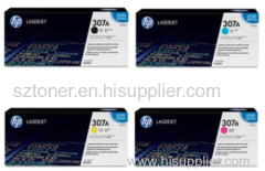 HP 307A Original LaserJet Toner Cartridge CE740A CE741A CE742A CE743A for HP ColorLaserJet CP5225/5225n/5225dn