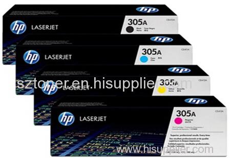HP 305A Original LaserJet Toner Cartridge CE410A CE411A CE412A CE413A for HP color Printer M351A M451dn M451nw M475dn
