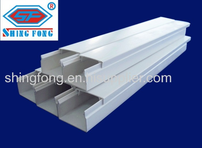 PVC wire trunking cable duct electrical wire tray from China ...