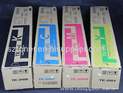 Kyocera TK-898 Original Toner Cartridge for For use in Kyocera FS- C8520 C8525MFP