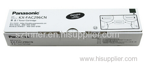 Genuine Original panasonic KX-FAC296CN toner cartridge panasonic KX-FL323 328 333 338 cartridge