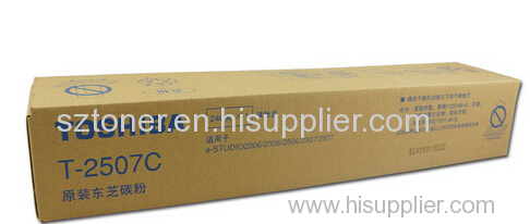 Genuine Original Toshiba T-2507C toner cartridge for Toshiba eS2006/2306/2506/2307/2507
