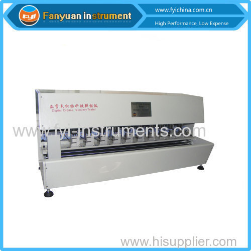 Automatic Fabric Crease Recovery Tester