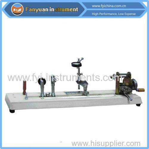 China Manual Twist Tester with Competitive Price