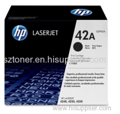 HP 42A Black Original LaserJet Toner Cartridge HP Q5942A for HP LJ4250 4350 4240