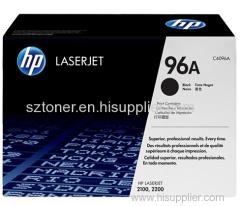 HP 96A Black Original LaserJet Toner Cartridge HP Q4096A for HP LaserJet 2100 hp2200