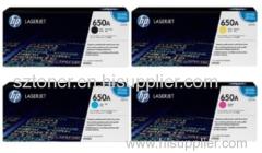 Genuine original HP CE272A LASERJET 650A TONER CARTRIDGE - YELLOW For HP Colour LaserJet Enterprise CP5525 M750 printers