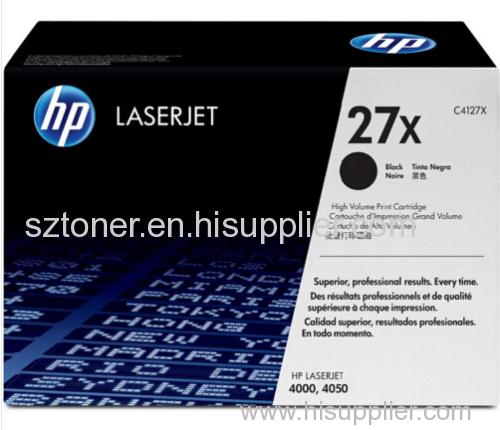 Genuine Original package HP 4127x toner cartridge HP 4127X