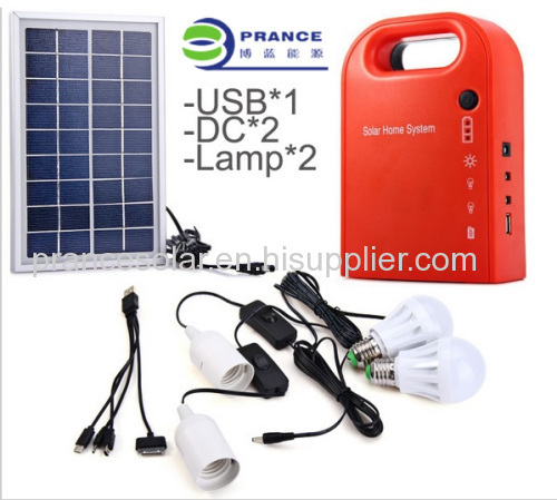small household solar Lighting System