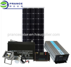 Portable 1000W small household solar Lighting System