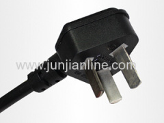 CCC china 3 pins home appliance ac power cord