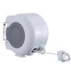 30M Dual Line Retractable Clothesline/Washingline Wall Mounted