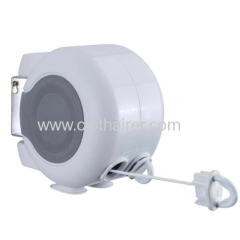30M Dual Line Retractable Clothesline/Washingline Wall Mounted