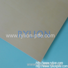 PTFE sheet with silica