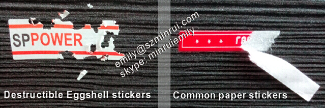 How can I print custom waterproof indestructable permanent stickers up to 20