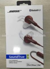 2015 New Bose SoundTrue Bluetooth In Ear Earphone Headphones with High Quality